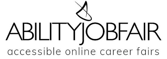ABILITY Job Fair accessible online career fairs 550x195