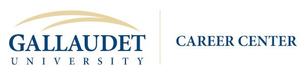 Gallaudet University Career Center Logo