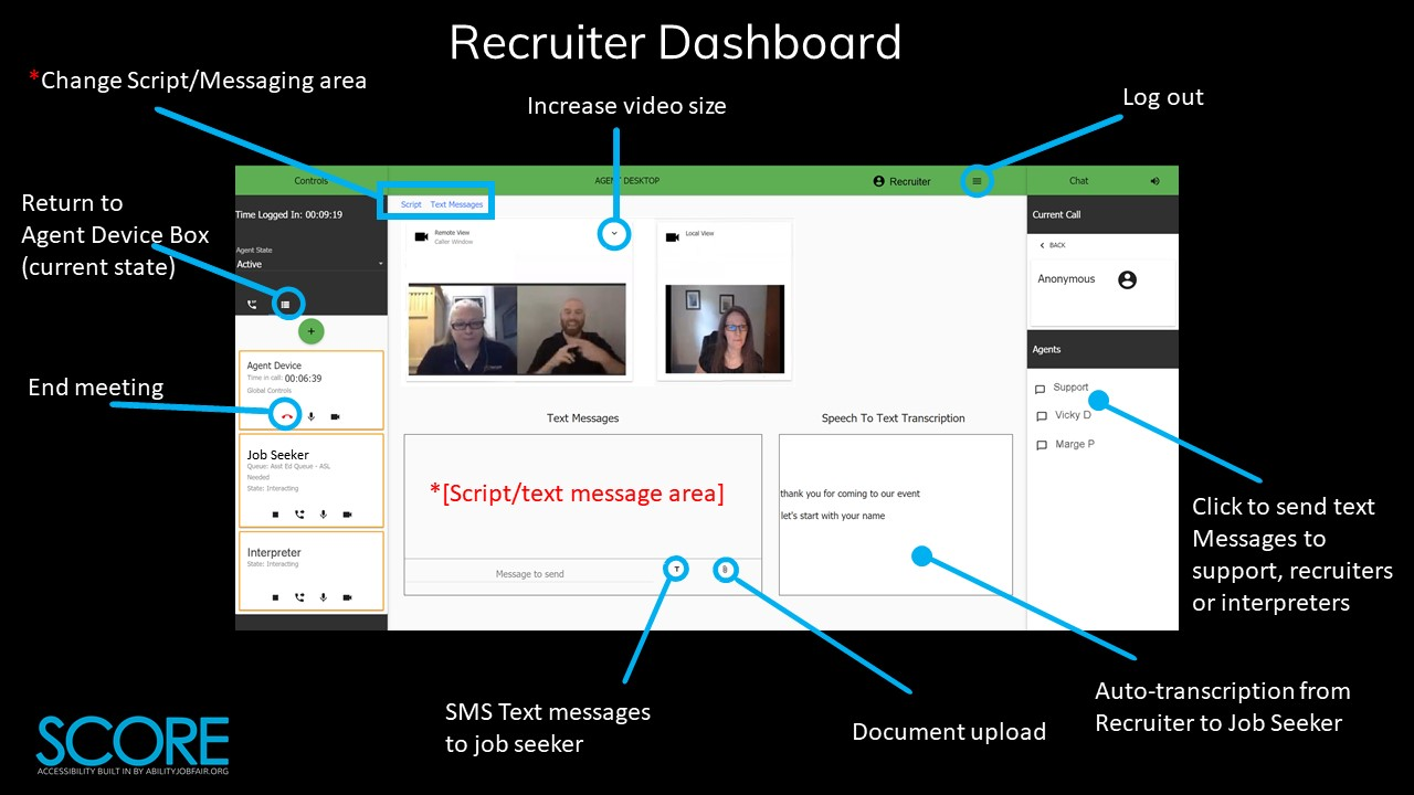 REcruiter dashboard Image