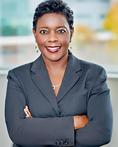 Afrrican American woman in business attire