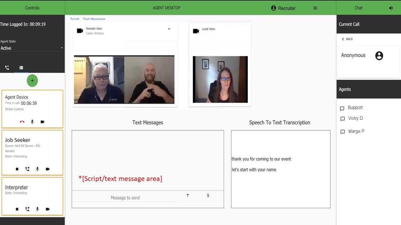 Recruiter Dashboard Interaction SCORE features